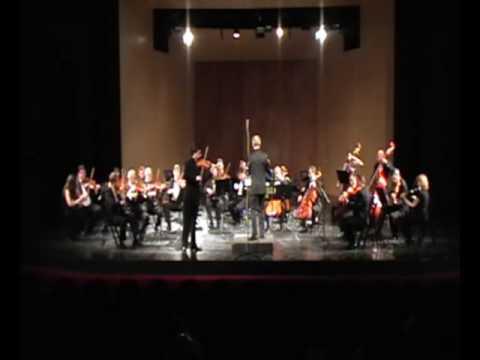 Mozart Violin Concerto No. 3 3rd mov. Yosif Ivanov & Sofia Soloists