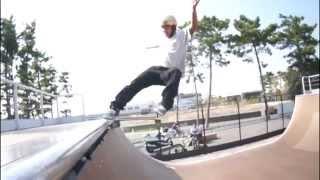 塩浜スケートパーク ミニランプトリック