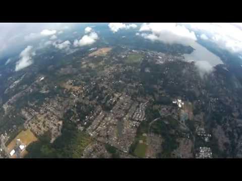 UpAir One - 1,002 Meters (.62 miles) High - Views of Puget Sound/Lake Washington