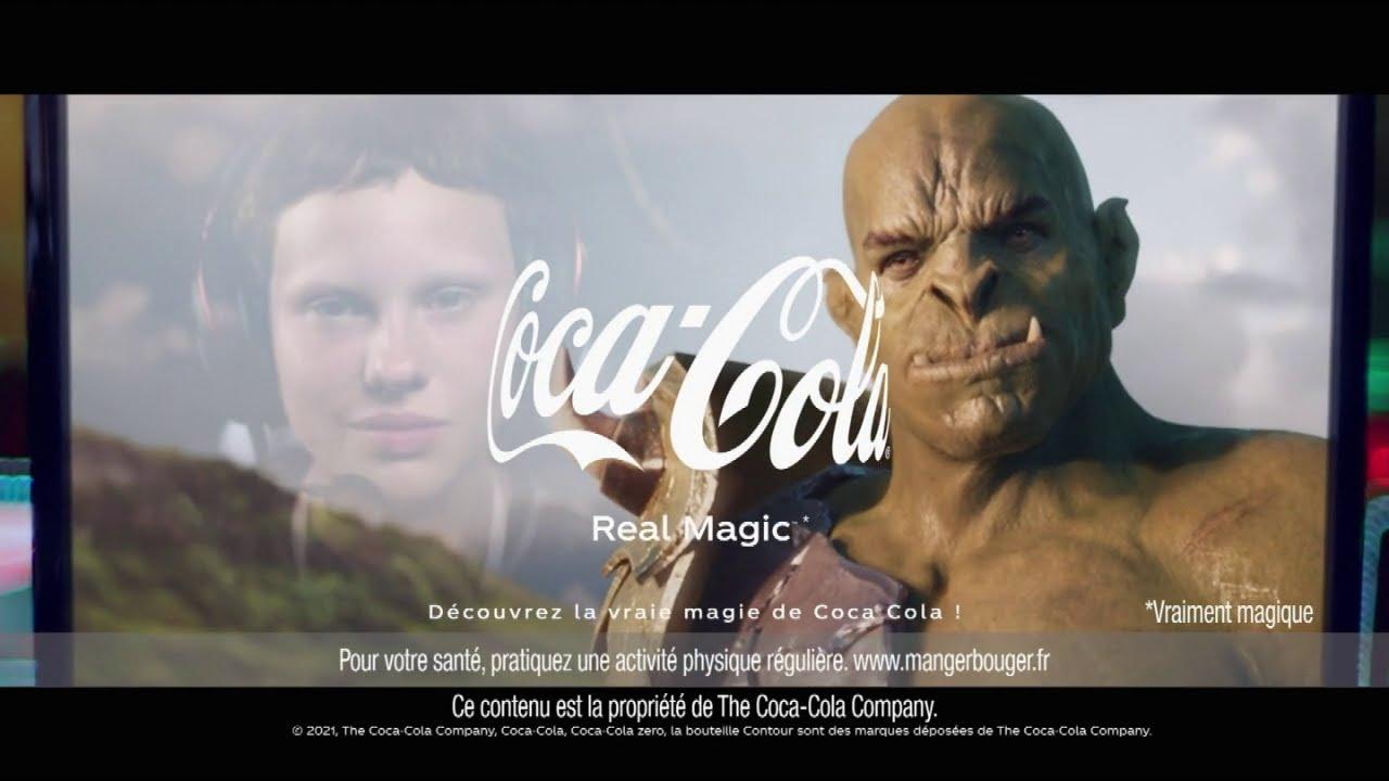 """Musique pub Coca-Cola """"découvrez la vraie magie de Coca-Cola !""""  juillet 2021"""