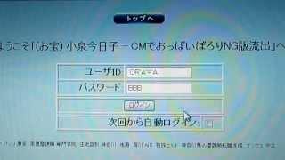 クラッキング    SQLインジェクション ユーザID パスワードが丸見え thumbnail