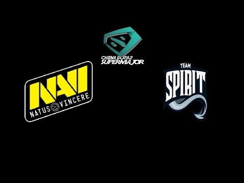 Navi vs Team. Spirit CHINA DOTA2 SUPER MAJOR Highlights Dota 2 thumbnail