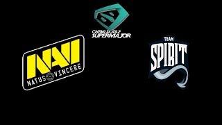 Navi vs Team. Spirit CHINA DOTA2 SUPER MAJOR Highlights Dota 2
