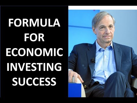 The Formula for Economic/Investing Success by Ray Dalio and Portfolio Strategy