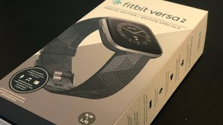 Fitbit Versa 2 Special Edition Unboxing & Setup - How to set up a Fitbit Versa devices