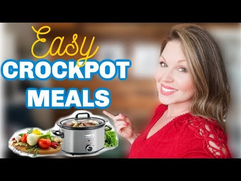 EASY AFFORDABLE CROCK-POT MEALS | COOK WITH ME | STAY AT HOME MOM WHAT'S FOR DINNER