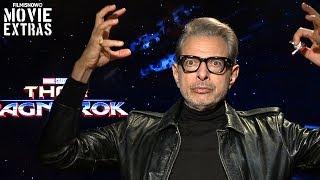 Thor: Ragnarok (2017) Jeff Goldblum talks about his experience making the movie