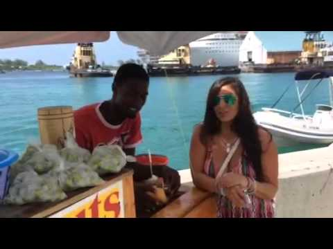 Getting to know the Locals in Downtown, Nassau