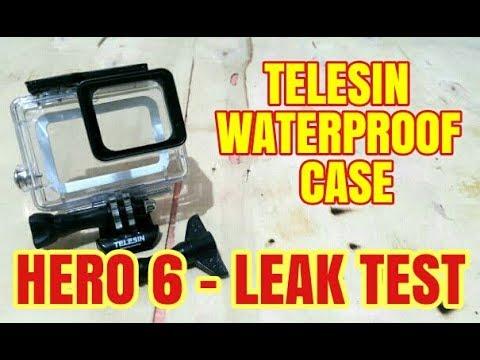 TELESIN WATERPROOF CASE | WATER LEAK TEST | MANIGURO TAYO