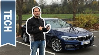 Ferngesteuertes Parken & Parking Assistant Plus im 5er BMW (2018) im Test