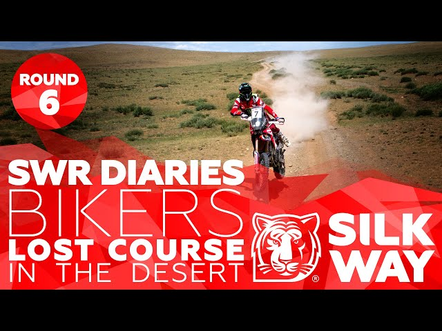 Bikers lost course in the desert | Silk Way Rally 2019🌏 RUS - Stage 6