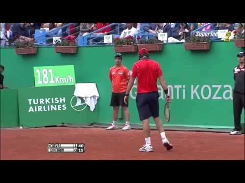 Pablo Cuevas vs Grigor Dimitrov FULL MATCH HD ISTANBUL 2015 PART 1