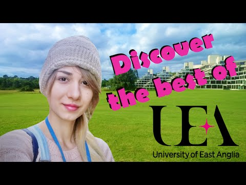 The best about University of East Anglia