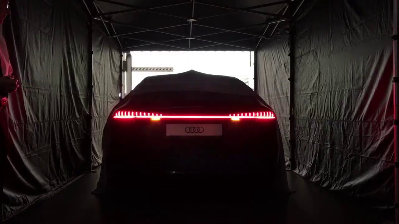 2019 Audi A7 Light Show Youtube