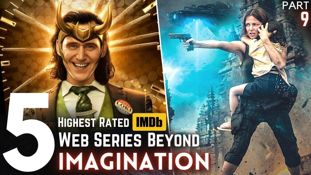 Top 5 Web/TV Series in Hindi/Eng on Netflix, Disney+ Hotstar, Prime (Part 9) Highest on IMDB