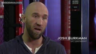How Josh Burkman Cut 18 Pounds in 24 Hours on Inside MMA