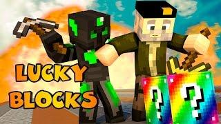Minecraft: LUCKY CASTILLO!! c/ sTaXx RAINBOW Lucky Blocks Epic Race