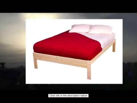 Nomad Solid Hardwood Platform Bed Frame Twin Size Youtube