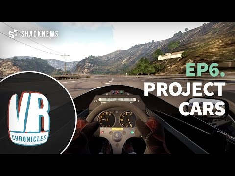 Project Cars Full Immersion! Oculus Rift Dk2 & Racing wheel (VR Chronicles)