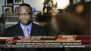 Ray Lewis Admits Using Antler Spray