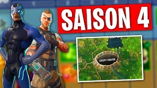 THE METEORITE IS CRASHED - NEW SKINS SAISON 4 on FORTNITE!