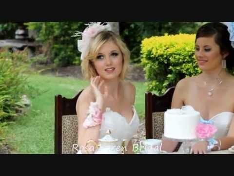 Rosa Loren Vintage Tea Party Pink   Cream Fascinator   Corsage - YouTube cef46e192c5