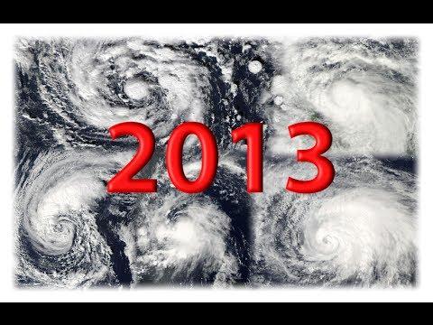 2013 Atlantic Hurricane Season Animation [Full]