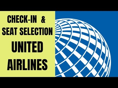 How To Check In & Select Seats On United Airlines