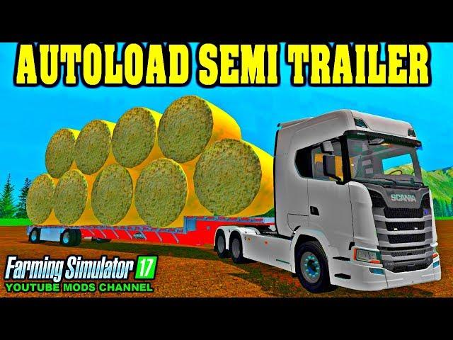 Cotton Bale Autoload Semi Trailer | Mods Magistrate's FileBase