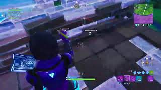 Trying to get a win is hard for bots like me. (Fortnite Battle Royale)