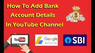 How To Add Bank Account Details In Youtube Channel (IFSC, Swift Code, AdSense) Live Demo