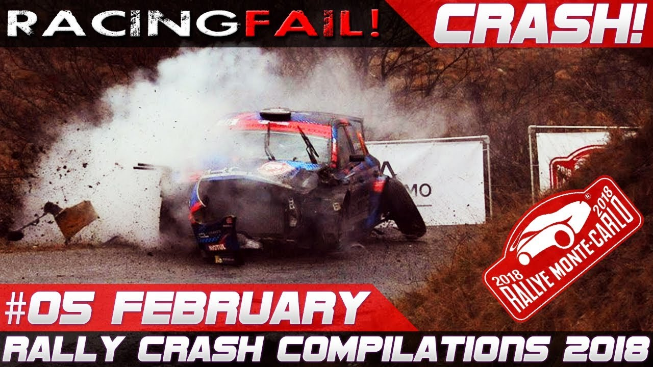 rallye monte carlo 2018 special rally crash compilation week 5 february racingfail youtube. Black Bedroom Furniture Sets. Home Design Ideas