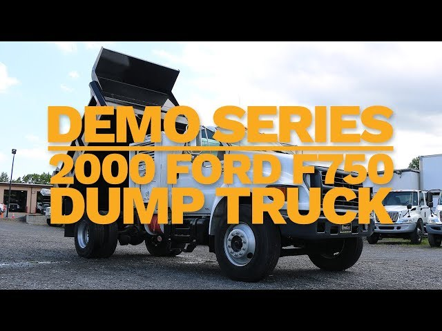 2000 Ford F750 Dump Truck | Truck Demo | Royal Truck & Equipment