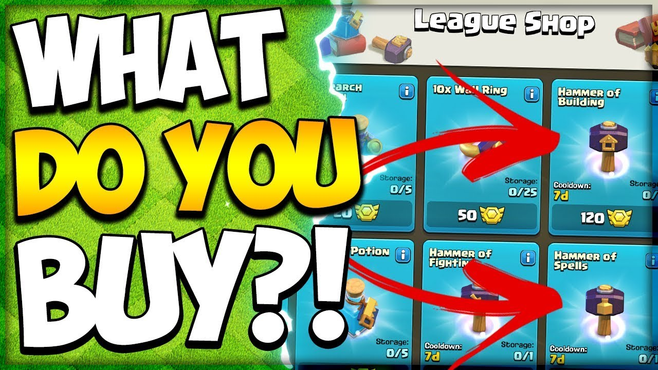 Spending League Medals and a New Farm Base! What to buy in League Shop in Clash of Clans