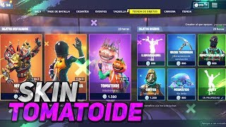 *SKIN TOMATE AND WUKONG* CALL FORTNITE STORE 27