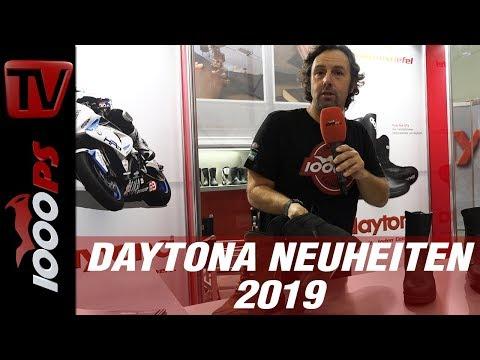 Daytona Highend Stiefel 2019 – alles neu bei den super-sicheren Motorrad-Stiefeln.