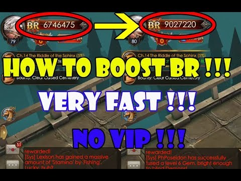 Legacy Of Discord - How To Boost BR Very Fast Non VIP !!!