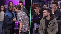 JANOSKIANS KISSING CHARADES on Top Five Live