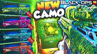 """*NEW* FREE """"OVERGROWTH"""" DLC CAMO + NEW DLC WEAPONS in BLACK OPS 3!? (BO3 OVERGROWTH CAMO GAMEPLAY)"""