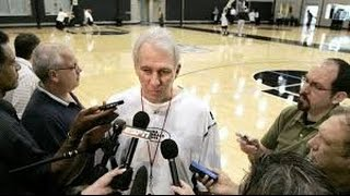 GREGG POPOVICH RESPECTS NATIONAL ANTHEM PROTESTS AND UNDERSTANDS WHY THEY'RE PROTESTING!