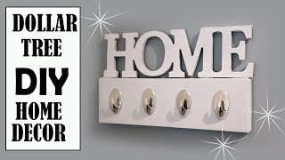 Dollar Tree Diy   Home Decor Key Holder