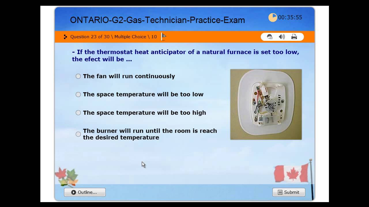 gas technician g2 licensing exam tssa ontario practice. Black Bedroom Furniture Sets. Home Design Ideas