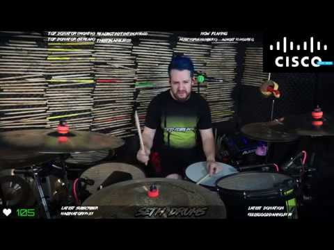 Cisco Default Hold Music 10 Hours | Drum Cover