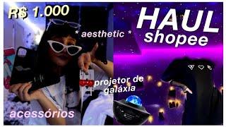 haul comprinhas da shopee (roupas, acessórios, decoração) screenshot 1