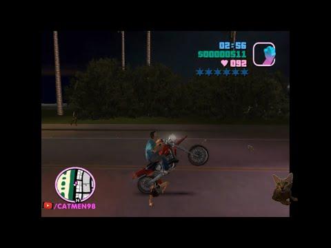 GTA 6: Bốc đầu Xe Moto Phiên Bản Con Trai Cưng Vice City Gta Gta