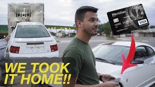 I successfully bought a Mustang on a CREDIT CARD!!