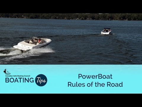 Power Boat Rules of the Road