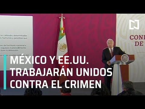 AMLO: no hay confrontación con Estados Unidos - Expreso de la Mañana
