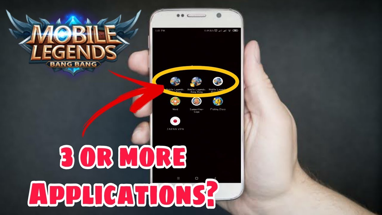 Duplicate Mobile Legends app in Android | Multiple Mobile Legends