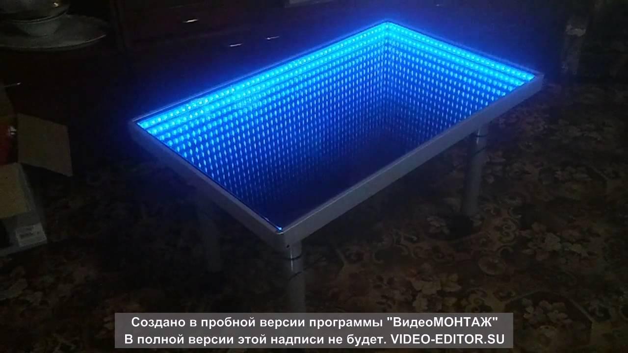 Как сделать стол с подсветкой фото 479